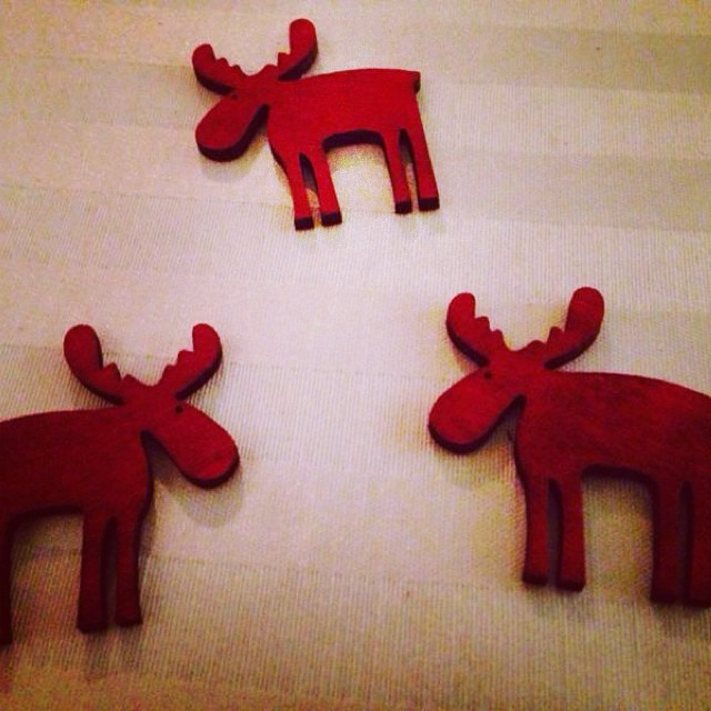 Tiny reindeer #detail#small#cute#red