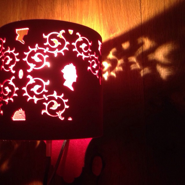 Goodnight #red#light#cosy#night