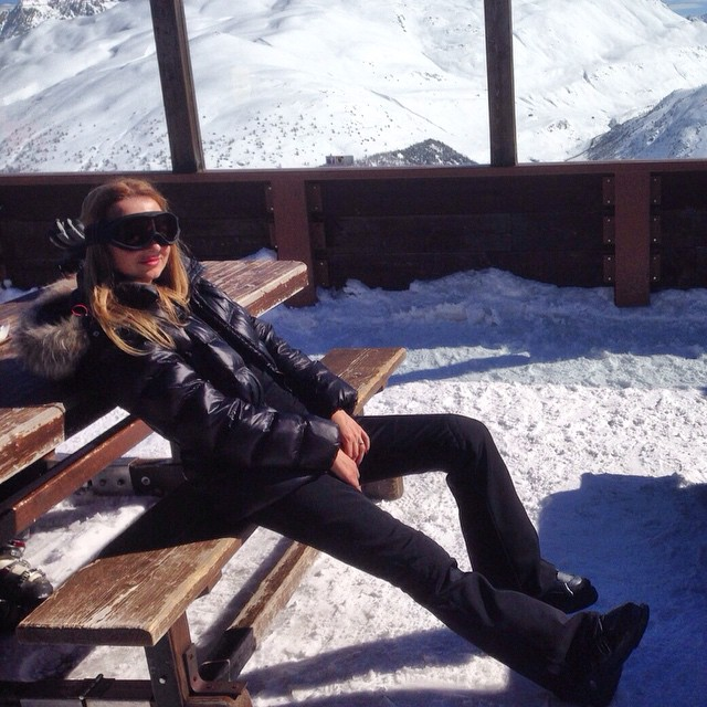 Relax#break#ski#sunny