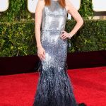 Julianne Moore purtand o creatie Givenchy