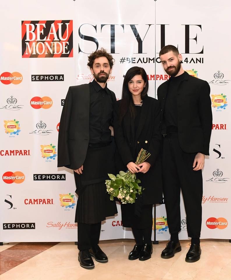 Andreea Castrase a primit Globul de Cristal pentru cel mai tanar designer.